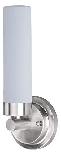 Satin Nickel Cilandro 4 Light 12.25ft.ft. Wall Sconce with Frosted Glass Shade (Cilandro 4 Light)