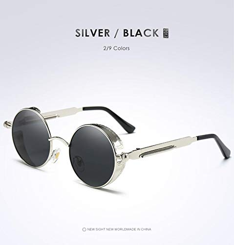 polarizadas Opcional Ciclismo protección de Gafas goldframegreen Gafas Star silverframegray UV Sol de para UV400 Hombre zt7x8fwq