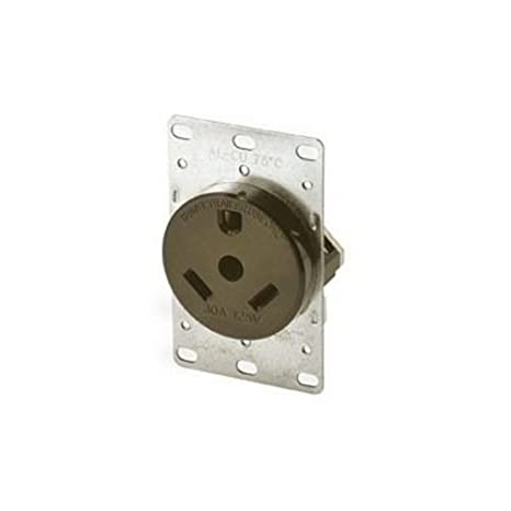 amazon com cooper wiring 1263 rv travel trailer receptacle outlet rh amazon com Travel Trailer Wiring Harness 7-Way Trailer Wiring