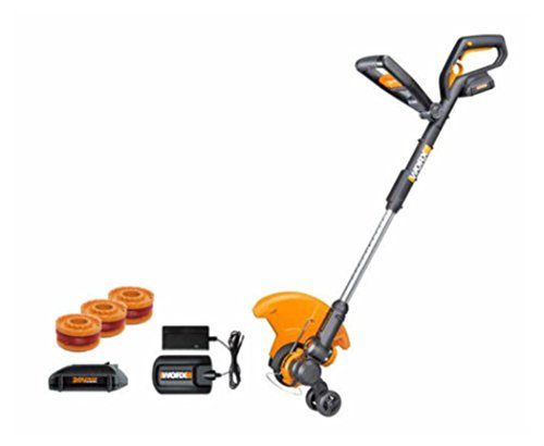 Wg160 3 Worxgt 20V 2 0 Max Lithium Grass Trimmer Edger Mini Mower  2  Batteries