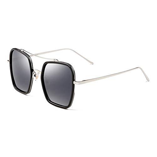 Miroir de soleil lunettes Femme Soleil de Des Sport Grand Conduite polarisées Cadre C pour Nouvelles B à Femme de Lunettes Couleur wO0ddEq