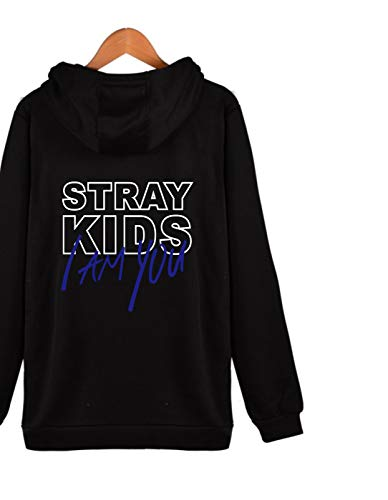 Amazon.com : SIMYJOY ENJOY THE SIMPLICITY Unisex Stray Kids Fans I am You Concert Hoodie Jacket Zipper Sweater : Sports & Outdoors