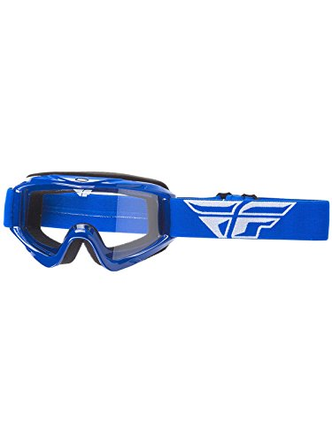 Fly Racing Men's Focus Youth Goggle (Blue w/Clear Lens, One Size) Blue Mens Weston Jacket