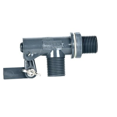 3/8inch MPT PVC Tank Mount Float Valve with .25inch Orifice