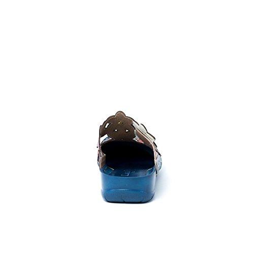 Sabot Blu Vita Laura Sandali Donna AxY516