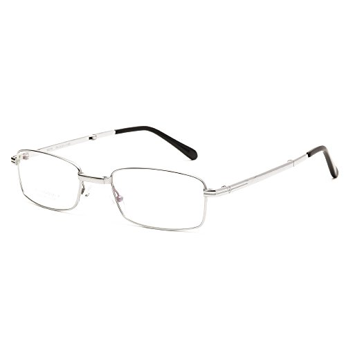 Langford Foldable Pure titanium Frame Eyeglasses 54mm Clear Lens For Men, With Case And Cleaning Cloth 6090SR