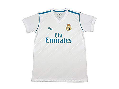Camiseta Sergio Ramos 4 – Réplica Oficial – Primera Equipación Real Madrid 2017/2018