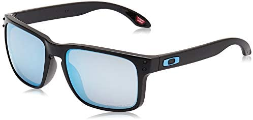 Oakley Men's OO9102 Holbrook Sunglasses Square Polarized Sunglasses