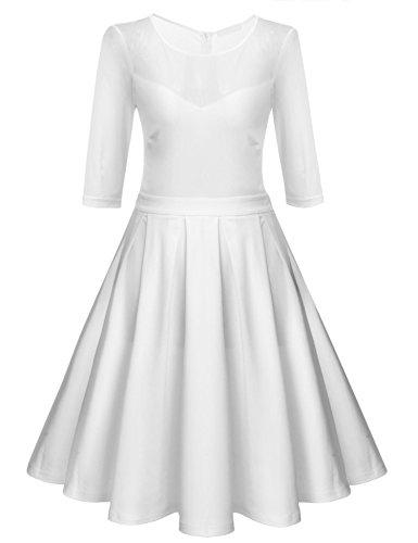 best tea length wedding dresses - 7