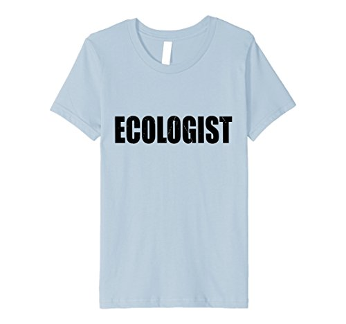 Ecologist Costume (Kids Ecologist T Shirt Halloween Costume Funny Cute Distressed 8 Baby Blue)