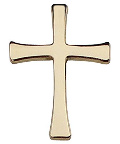 Christian Cross - Gold Lapel Pin (Cross Pin)