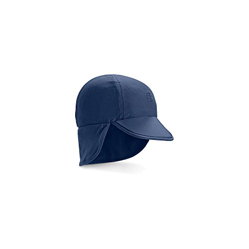 Coolibar UPF 50+ Baby Splashy All Sport Hat - Sun Protective (12-24 Months - Navy)