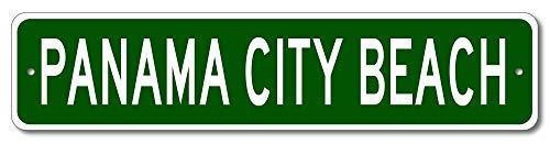 Panama City Beach, Florida - USA City Sign - Aluminum 4