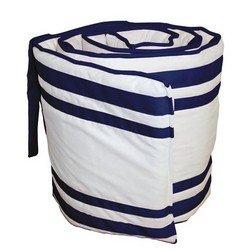 Soho Cradle Bumper, color: Navy, size: 15x33