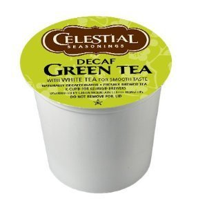 Celestial Seasonings DECAF Green Tea K-Cup 48 Count Case by Celestial Seasonings