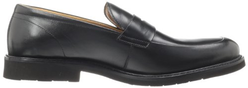Flors Mens Gallo Öre Loafer Svart