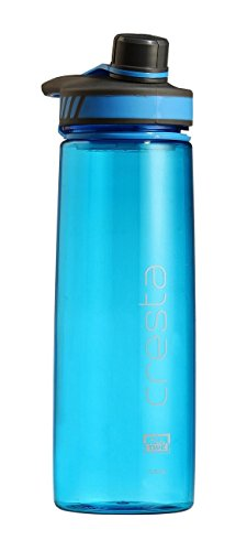 All Time Cresta Twist Cap Opening Sports Travel Polycarbonate Water Bottle, 750ml, Blue
