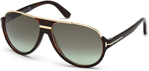 Tom Ford Women's TF0334 Sunglasses, Havana/Other (Tom Ford Sunglasses)
