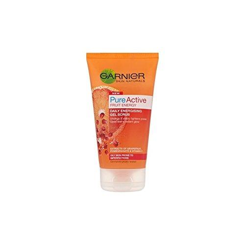 Garnier Skin Naturals Pure Active Energising Gel Scrub (150ml) (Pack of 6) - 純粋な活性通電ゲルスクラブ(150ミリリットル)ガルニエ皮膚ナチュラル x6 [並行輸入品] B0718YZVPG