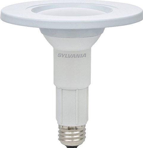 Sylvania Home Lighting 79695 LT Sylvania LED BR30, 65W Equivalent, Contractor Series Intgrated Bulb and Trim, Efficient 15W, Dimmable, Soft White (15 Energy Saving Trim)