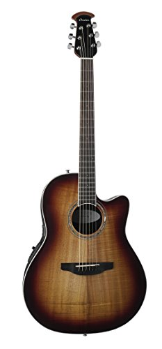 Ovation CS28P-KOAB Celebrity Standard Exotic Super Shallow Depth, Acoustic-Electric Guitar, Koa Burst