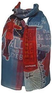 London Souvenir Soft Scarfs Scarves Wraps Shawls Womens Girls Unisex