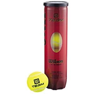 Wilson Tennisball Practice 4er Pack, Gelb, 1, WRT111900