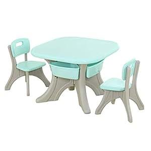 Amazon.com: CJC - Juego de sillas de mesa, resistente, para ...