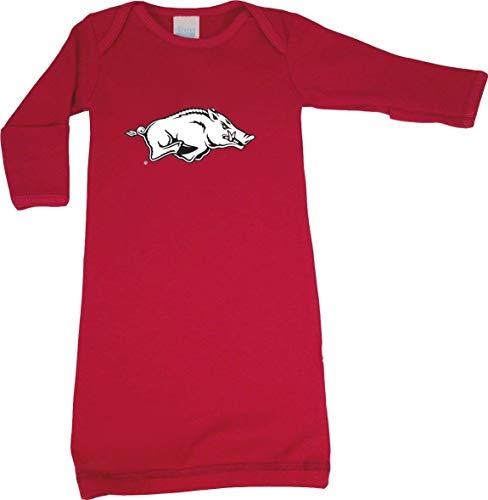 - Arkansas Razorbacks LOGO Baby Layette Gown