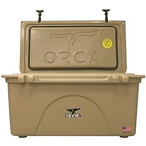 (ORCA Cooler, 75 Quart, Tan)