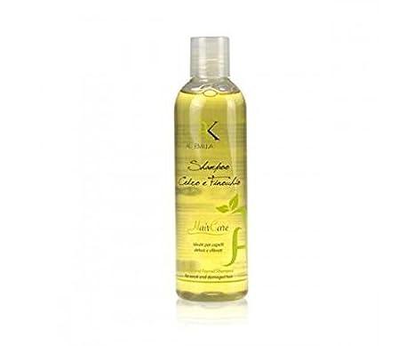 Alkemilla - Champú Cedro e Finocchio para cabello frágil y quebradizo, producto ecológico y vegano, no testado en animales, fabricado en Italia: Amazon.es: ...