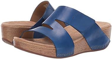 New In Box DANSKO Womens Lacee Cobalt Blue Leather Slide Sandals 1820710600