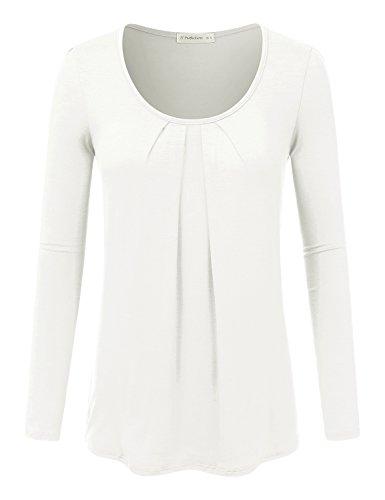 Ivory Blouse Shirt - 1