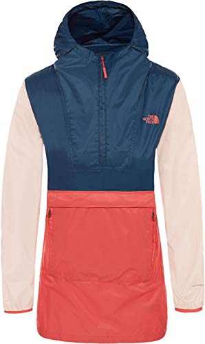 (The North Face Women's Fanorak 2.0 Spiced Coral Multi X-Large)