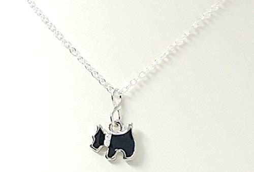 Children's Petite Puppy Dog and Rhinestone Pet Necklace ()