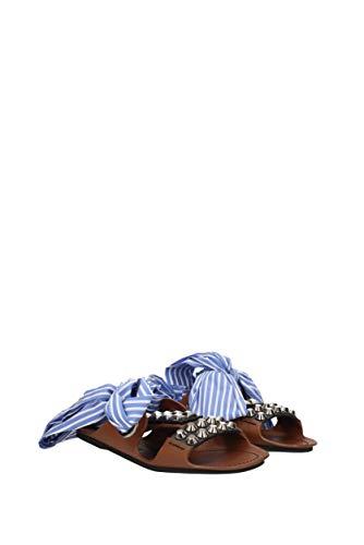 Zuecos Prada Mujer Piel Y Eu Marrón 1x676i Zapatillas 5nxHvw