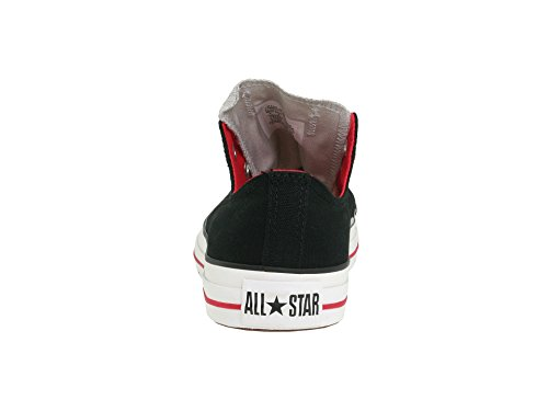 62a0439bb23b9 Converse Chuck Taylor Double Tongue Shoes in Black/Red/Grey (1V301), Size:  11 Mens / 13 Womens, Color: Black/Red/Grey