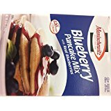 Manischewitz Blueberry Pancake Mix With Real Blueberries KFP 9 Oz. Pack Of 6.