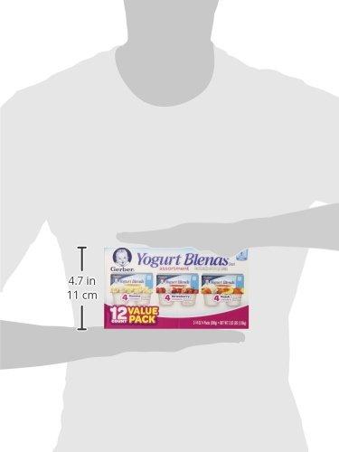 Gerber Yogurt Blends Assortment Snacks, 12 Count, Net Wt. 2.62 lb by Gerber (Image #5)'