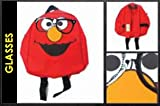 Sesame Street Glasses Elmo Mini Backpack Bag, Outdoor Stuffs