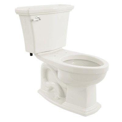 Clayton 1.6 GPF Elongated 2 Piece Toilet Toilet Finish: Cotton