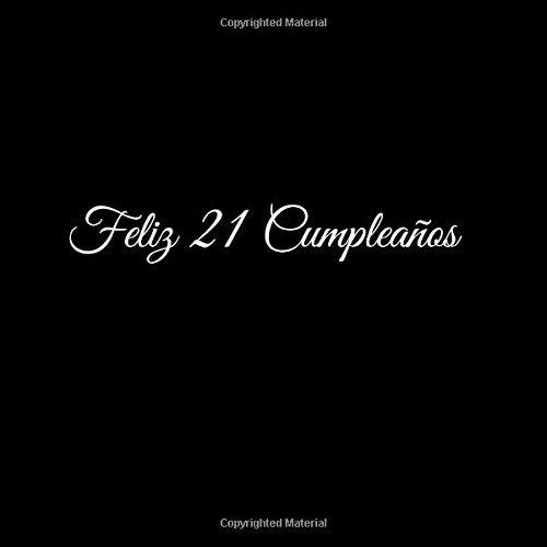 Amazon.com: Feliz 21 cumpleaños: Libro De Visitas 21 Años ...