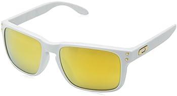Oakley Holbrook Polished White Frame 24k Iridium Lens Sunglasses
