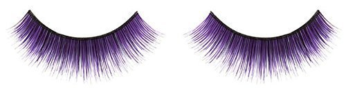 Zinkcolor Mystic Purple False Synthetic Eyelashes E024 Dance Halloween Costume]()