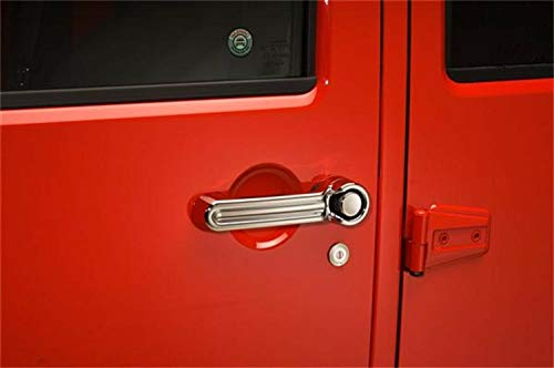 Putco 401054 Chrome Door Handle Cover for Select Jeep Models ()