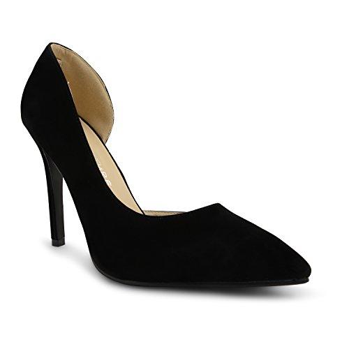 Footwear Sensation - Zapatos de tacón mujer negro