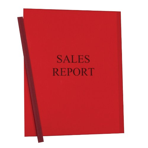 UPC 038944325545, C-Line Report Covers with Binding Bars, Red Vinyl, Red Bars, 8.5 x 11 Inches, 50 per Box (32554)