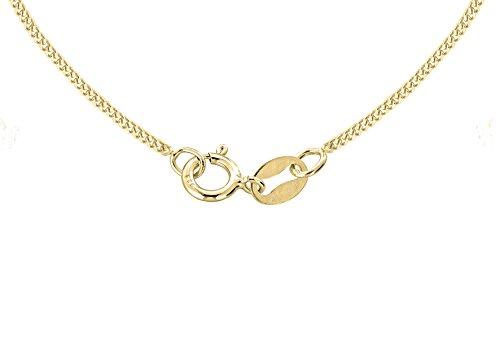 Carissima Gold - Parure collier et boucles d'oreilles Femme - Or jaune (9 cts) 2.88 Gr - Diamant / Quartz fumé