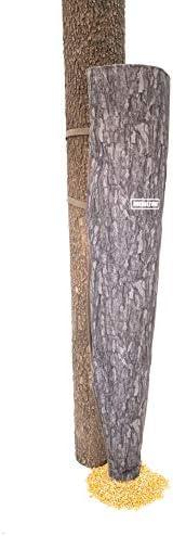 Moultrie 100 lb Capacity Moultrie Bag Gravity Feeder, Pine Bark Camo