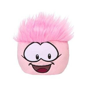 Club Penguin Pet Puffle - Series 3 Pink